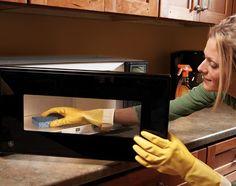 dezinfectarea buretelui de vase incuptorul cu microunde