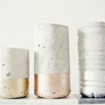 Cum să faci un Suport de Lumânări din Ciment Pictat