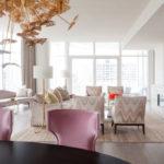 Idee de decor pentru un apartament fascinant în stil feminin